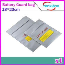 Sacs ignifuges en Ligne-CHpost 1pcs RC LiPo Li-Po Batterie Fireproof Sûr Coffre Sûr Bag Sac de chargement 18x23 cm ZY-BAJ-01