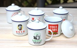 Wholesale Chinese vintage style enamel cup
