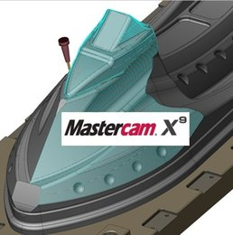 Wholesale working Mastercam X9 v18 English for bit with disc and installation instruction