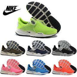 Wholesale Nike Men s Women s Fragment x Nike Sock Dart Running Shoes Original Men s Womens running shoes Cheap Best Tennis Jogging Shoes