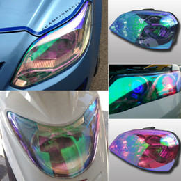 Car Headlight Film Tint Film 30x1000cm Auto Lamp Protection Film Chameleon film Frosted Film Cat Eye Film Pure Color Film for Auto Lamp