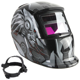 Wholesale Newest Hot Sale Auto Cool Darkening Welding Helmet Mask Welders Arc Tig Mig Grinding Solar Powered For Welders Mask High Qulaity