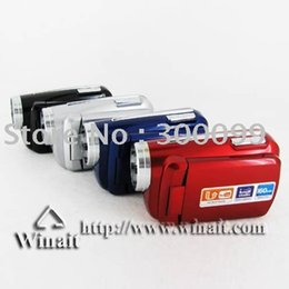 Wholesale Best selling GIFT item Max MP quot TFT LCD Digital Video Camera with LED Flash Light