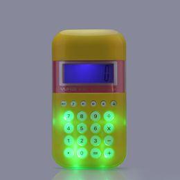Wholesale New Mini Calculators Cute Informatica quot LCD Digit Handheld Display Flash Calculator H14506