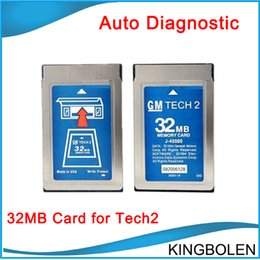 Wholesale Gm Tech2 MB Pcmcia Memory Card with GM Opel Saab Holden Suzuki Isuzu Empty Card for Choice by DHL
