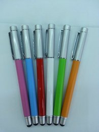 Wholesale New Stylus Pens Like Bamboo Stylus for iPhone5 s c for iPad air for iPod for samsung for htc for sony for nokia