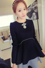 Wholesale new big yards couture autumn wear maternity clothes fashion easing the pregnant woman skirt cloth pregnant women dress28