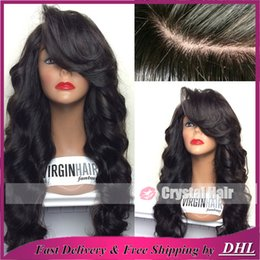 Wholesale 100 Real Unprocessed Human Hair Wig with Baby Hair Brazilian Virgin Glueless Body Wave Lace Wig Lace Front Wig
