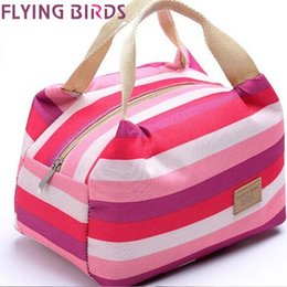 Wholesale Kids Canvas Lunch Bags - hot sale women bags lunch bag cooler insulated picnic bag kid canvas bags women thermal insulation bolsa termica HL6468fb