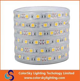 Wholesale 5m LED led m IP67 Tube waterproof LED Strip Outdoor light v led tap DHL
