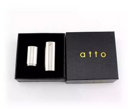 Atto mod clone with 316 stainless steel fit 18350 18650 battery Mech Mod High Quality DHL Free