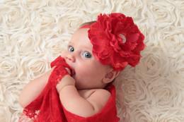 Baby Headband Matching Peony Flower Sparking Rhinestone Headband Luxe Headband Vintage Headband Baby Girl Hair Accessory
