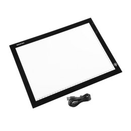 Wholesale-2016 Hot Huion A4 Ultra Thin LED Animation Drawing Stencil Board Table Pad Light Box Worldwide Hot Drop