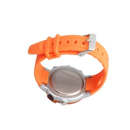 Wholesale-New Calorie Burned Heart Rate Pulse Sport Watch Wristwatch Orange ES88