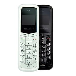 Wholesale Yama Yahoo BM50 Unlocked Mini Phone Bluetooth Headset Least Mobile Phone Bluetooth Dialer Headphone Pocket Cellphone