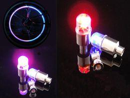 LED Flash Light Bike Wheel Lights Tyre Wheel Valve Cap Bike Bicycle Motorcycle Car Wheel Light Tyre LED Car Light