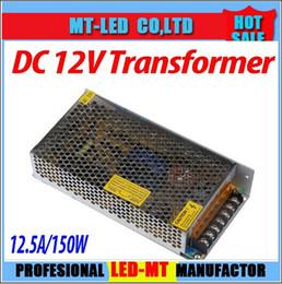 2017 12v ac chargeur Bandes LED Transformateur adaptateur 150W 12V 12.5A AC / DC Power Supply Chargeur LED pour 5050 lumière 3528 RGB LED Strip budget 12v ac chargeur