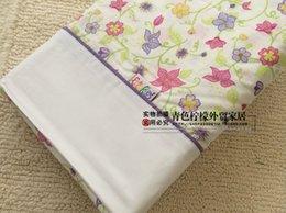 Wholesale Tail pure cotton export Australian pastoral flowers single three piece children s section pounds
