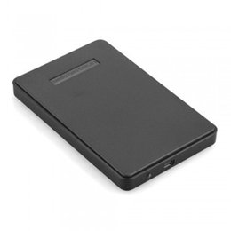 "High Speed 2.5"" USB 2.0 HDD Case Hard Drive SATA External Enclosure Box for PC Computer Laptop Notebook"