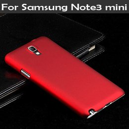Wholesale-For Samsung Galaxy Note 3 neo Note3 neo Note 3 mini N7505 Frosted Matte phone Back cover Hybrid Hard Plastic cell phone cases