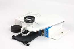 Wholesale-5XTelephone optical Lens for iphone 4  iphone5 and most mobile phones ,with retail package