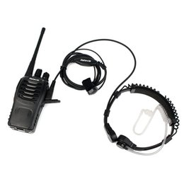 Wholesale 2 Pin Retractable Throat Covert Acoustic Tube Earpiece For Retevis H RT R KENWOOD TYT BAOFENG C9026A