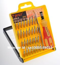 Wholesale 100pcs in1 JACKLY Repair mobile phone Multifunctional interchangeable precise manual screwdriver tool set
