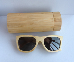 Wholesale Can do logo for you hot sell bamboo sunglasses wood sunglasses bamboo sunglasses with polarized lens