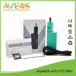 Promotion gros joyetech Vente en gros 100% Original Joyetech eVict VTC Mini VT-Ti VT-Ni VW Temprature Contrôle Noir Blanc Cyan 60W