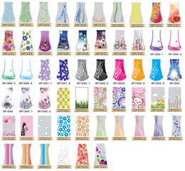 Fashion Designs New PVC Folding Flower Vase large Foldable Plastic Vase Handreds Designs MIX L Size Vase