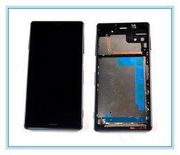 Wholesale For Sony Xperia Z3 LCD Screen Display Digitizer Assembly and frame tested original Tool Kits
