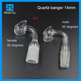 2015 Honey Bucket Quartz Banger Nail Quartz Nail Quartz Banger with Female & Male Ground Joint Free Shipping