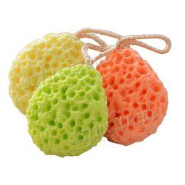 Wholesale Sponge Bath Ball Bubbles Bath Tubs Cool Ball Bath Towel Scrubber Body Cleaning Nylon Mesh Shower Wash AIA00029
