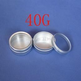 Wholesale N ml Aluminum Case g Round Matte Aluminum Can Aluminum Container Tea Tin