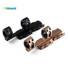 Wholesale Rock Solid Hunting Tactical Scope mm mm Weaver Picatinny Rings QR Extended Cantilever QD Mounts Bases With Auto Lock