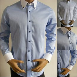 Wholesale Designer Men's Clothing Online Mens Shirts Cheap Long Sleeve