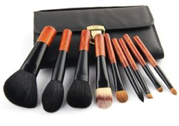 Wholesale High Quality set Makeup Brushes Goat Hair Make Up Brushes Portable Pincel Maquiagem Tools Mini Brushes Set Ancient Style