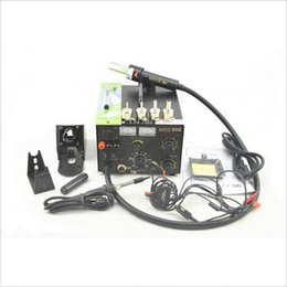 AY111 AOYUE 909 3 in 1 rework station hot air gun + soldering iron + power supply