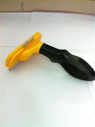 Wholesale Best quality Dog cleaning Grooming hair Shedding Tool pet comb brush Pet brush Dog brush Cat Brush inch