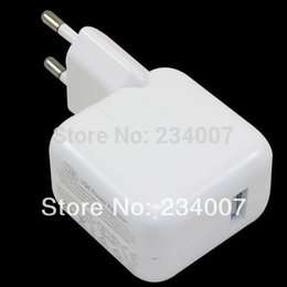 Wholesale New EU Plug W AC Wall Charger Amp for Apple iPad Mini Air iPhone iPod