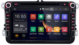 Wholesale Car Navigation Touch Screen Sale - Hot Sale 8 inch 2 Din Android 4.4 Car GPS Navigation DVD Player with HD Touch Screen and Two USB Interfaces For Volkswagen