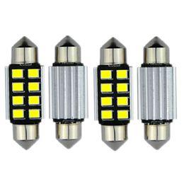 Pure White Canbus 31mm 36mm 39mm 41mm Led Lampada For Samsung 2835 LED DE3021 6418 C5W Interior Lights 12v Led Car Light Parking