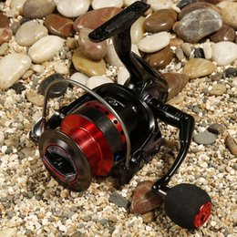 Wholesale Fishing Reel Spinning Reel KB6000 BB Long Shot Wheel Aluminium Spool Ice Fishing carp fishing carretilha pesca coil