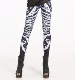Drop Shipping Women Bone Leggings Bone Machine Leggings Limited Skeleton Leggings Plus Size Hot Sale
