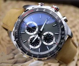 Wholesale Best Selling The New Calibre Silver The dial Formula Chronograph Import Quartz Mens Watch mm