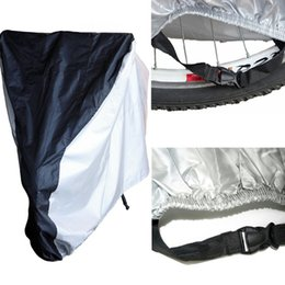 Wholesale Motorcycle Bicycle Motor Scooter rainwear ponchoWaterproof UV Dust Protector Rain Cover Size