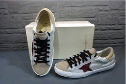 Wholesale New Golden Goose GGDB New York Sneaker Worn Men Women Low Cut Shoes Sneakers g21d121g9