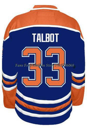 Factory Outlet, Men's Ice Hockey Jerseys Cam Talbot #33 Jersey (HOME BLUE),CHEAP Authentic #33 Cam Talbot Jersey,Size S-3XL