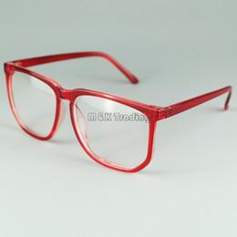 Glasses Shop Vintage Eyeglasses Frames Square Frame Glasses With Clear Lens Plastic Frame Cheap Eyewear Mix Colors