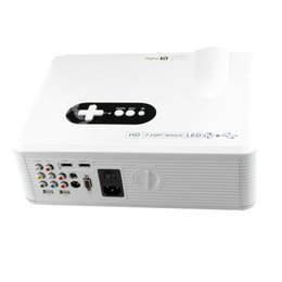 Wholesale-Free shipping 3000lumens native 1280*800 LED Beamer HD Ready Video Projector free shipping by DHL